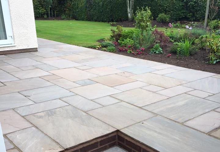 Natural Stone Patios in Wychavon, Worcestershire